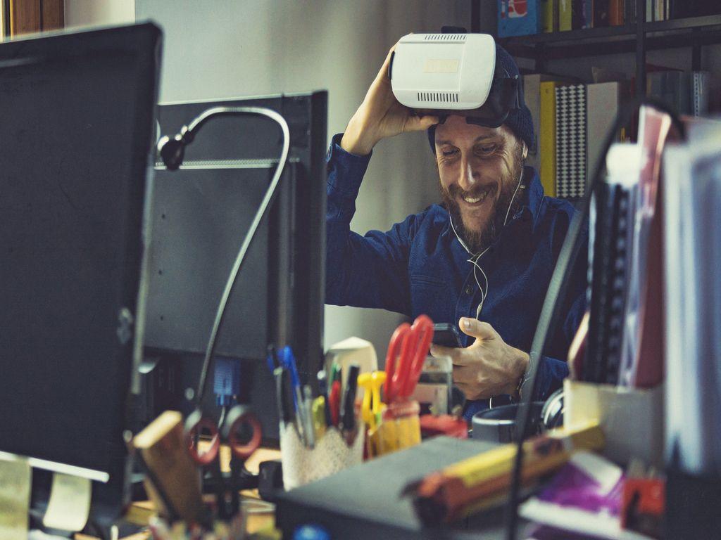 AR/VR Rozšířená realita a virtuální realita